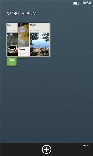 Screenshot, Story Album