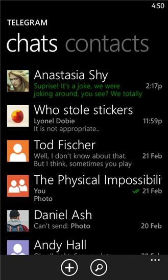 Screenshot, Telegram Messenger