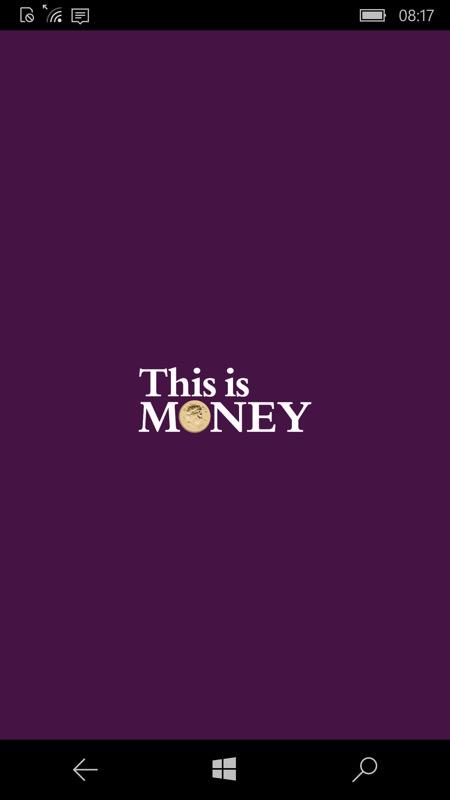 Screenshot, This is Money