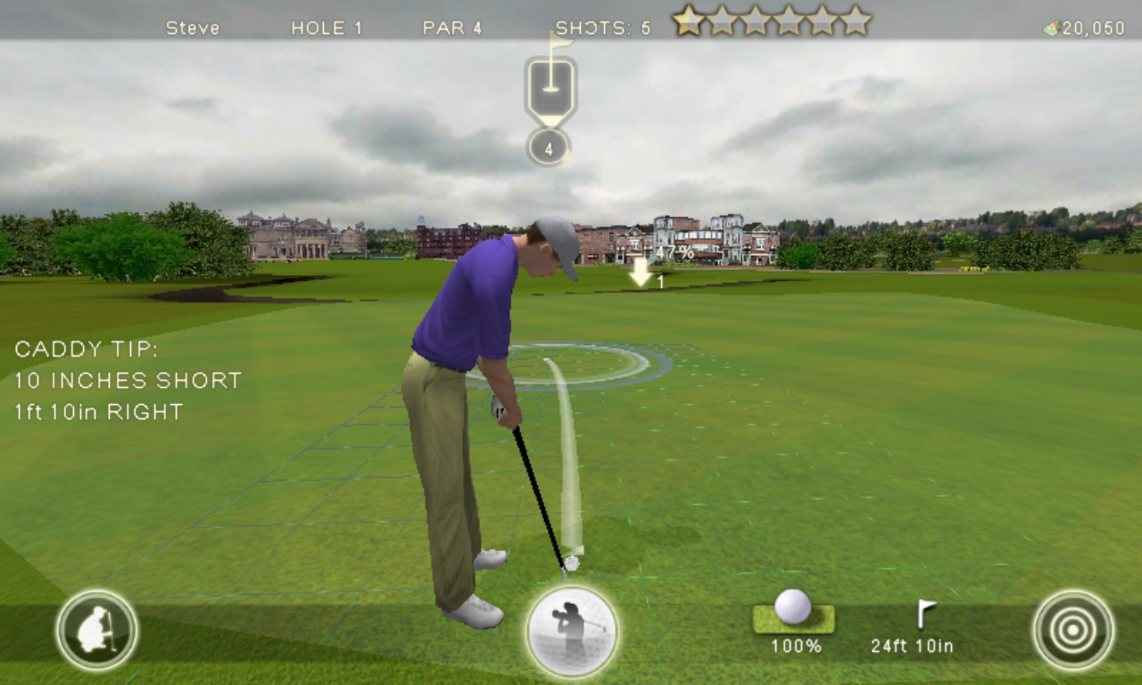 Screenshot, Tiger Woods 12