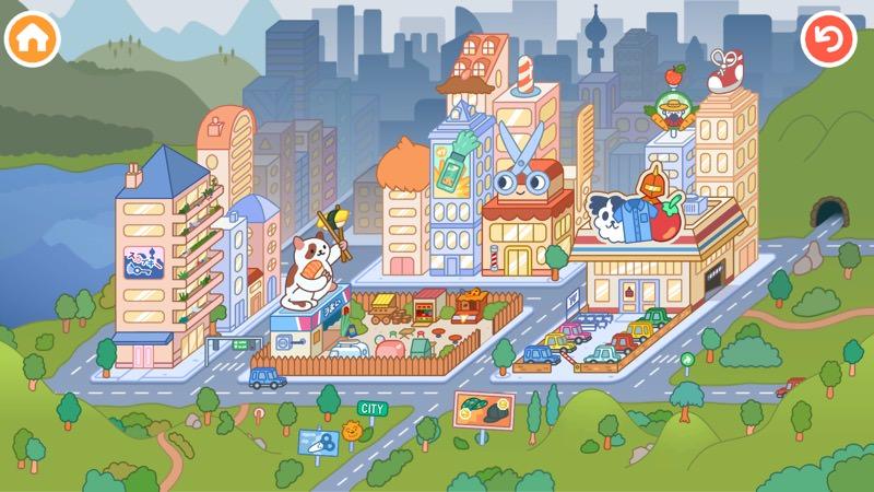 Screenshot, Toca Life: City