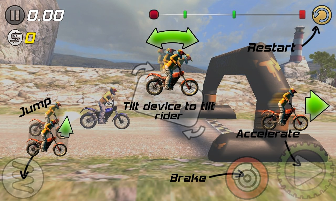 Screenshot, Trial Xtreme 3