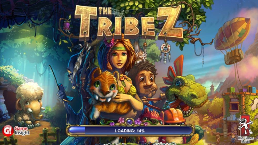 Screenshot, The Tribez