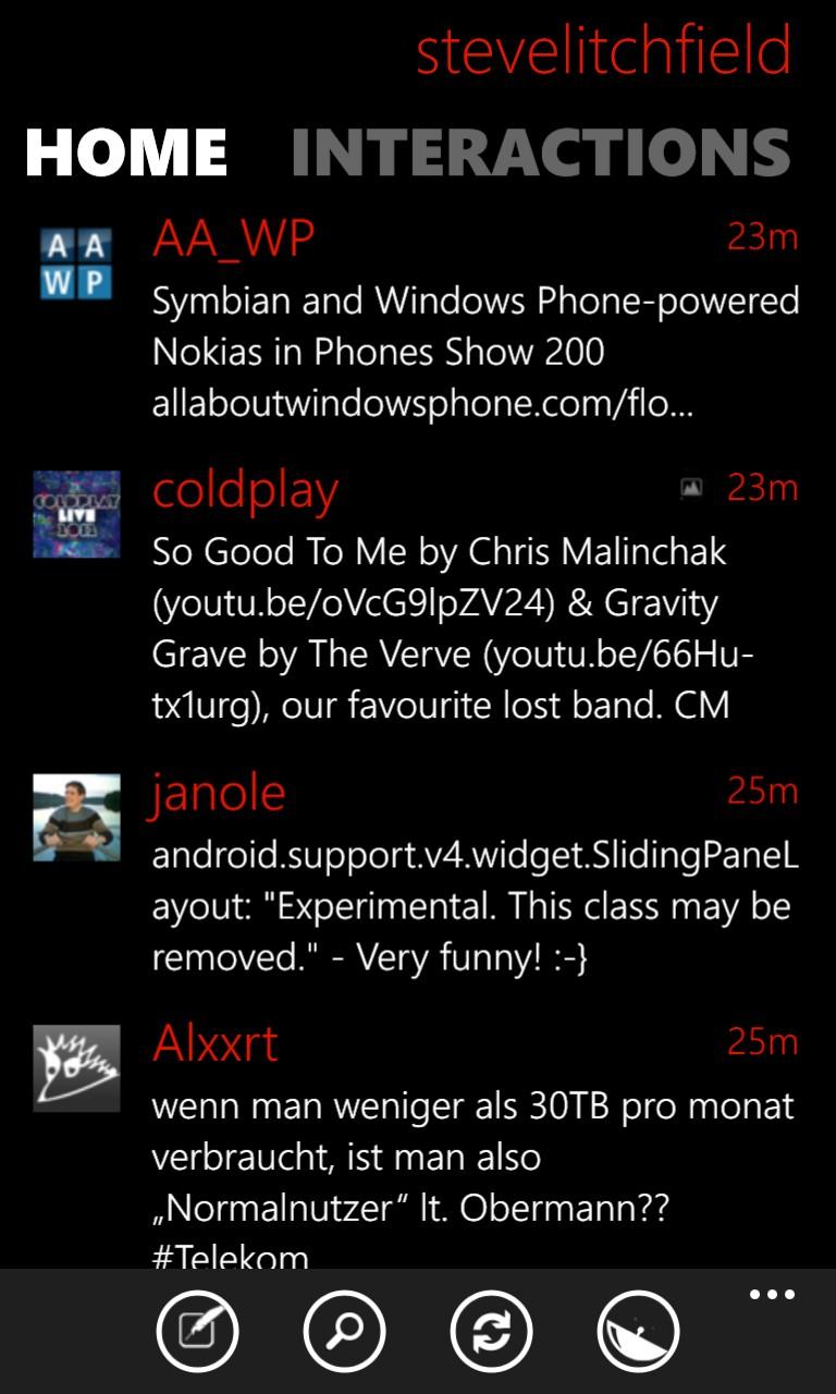 Twabbit screenshot