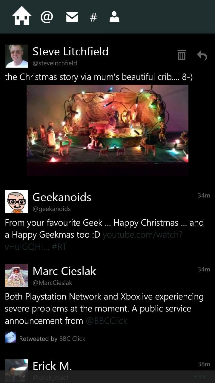 Tweetium screenshot