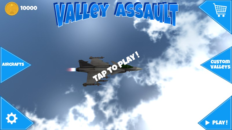 Screenshot, Valley Assault