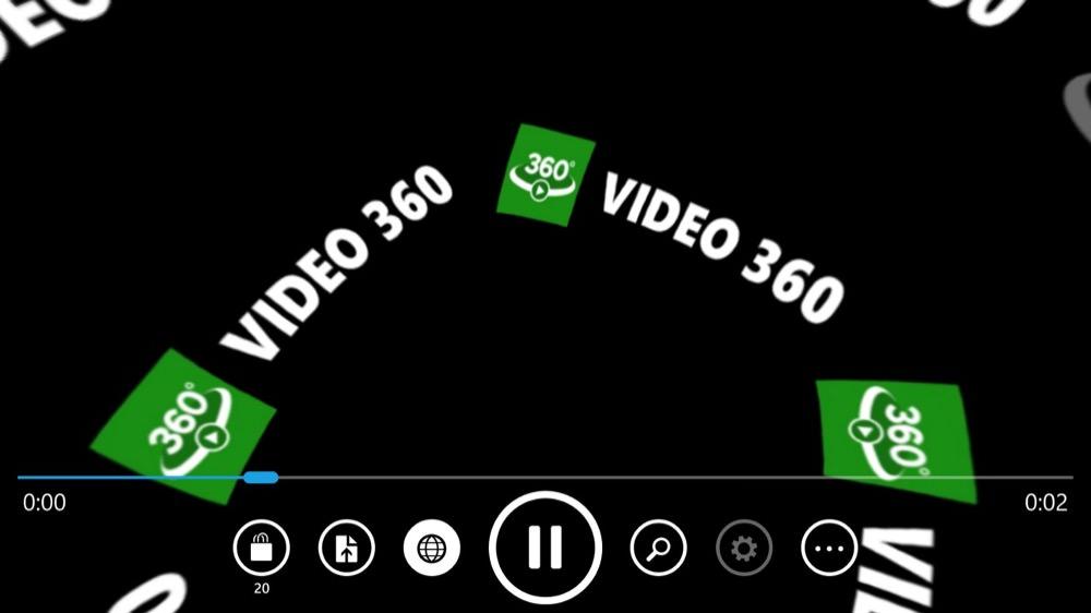Screenshot, Video 360