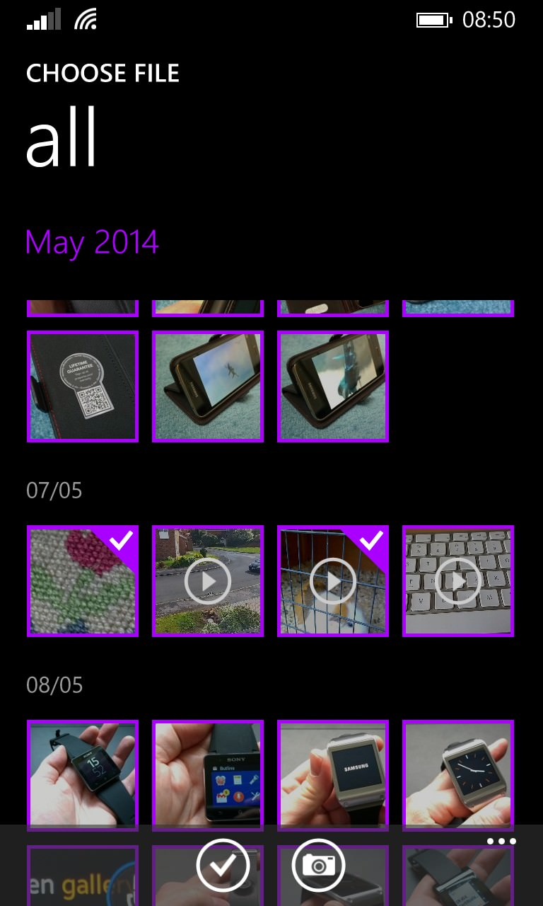 Screenshot, Video Editor 8.1