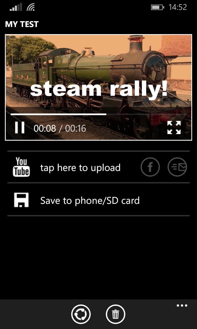 Screenshot, Video Memories
