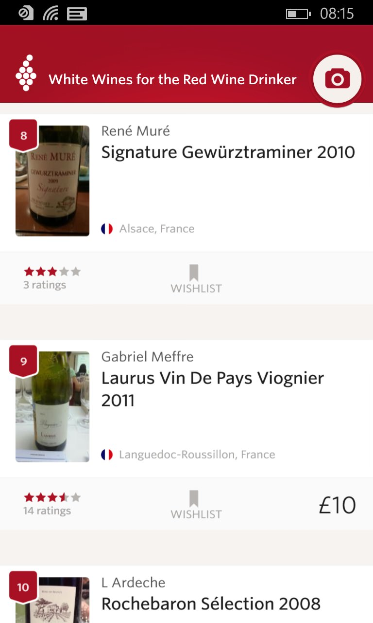 Vivino in action