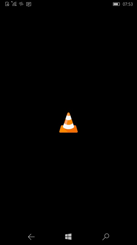 Screenshot, VLC
