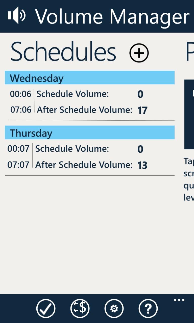 Screenshot, Volume Manager