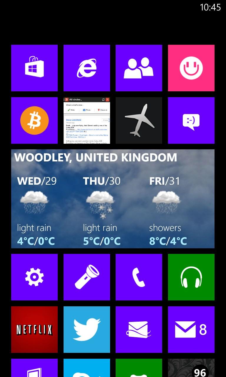 Screenshot, Weather Channel