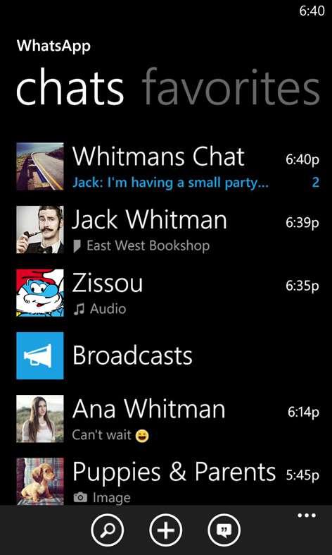 Screenshot, Whatsapp