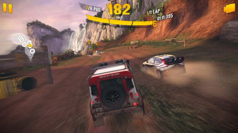 Screenshot, Asphalt Xtreme