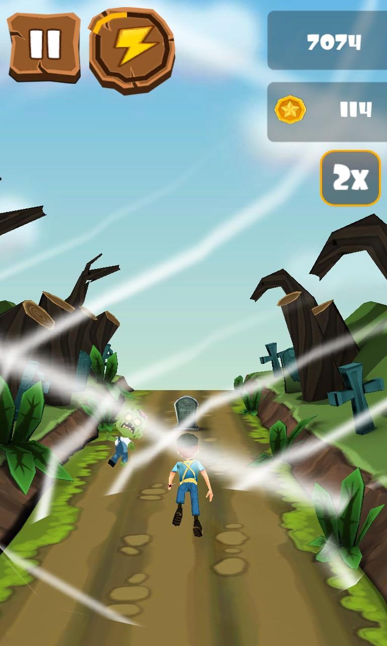 Screenshot, Zombie Run 3D