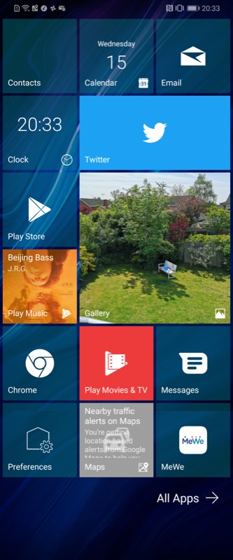 Launcher10 And Live Tiles On Android