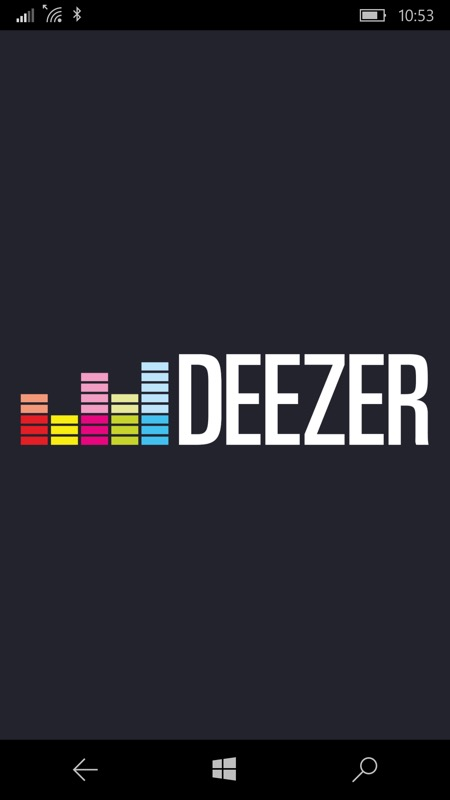 Screenshot, Deezer