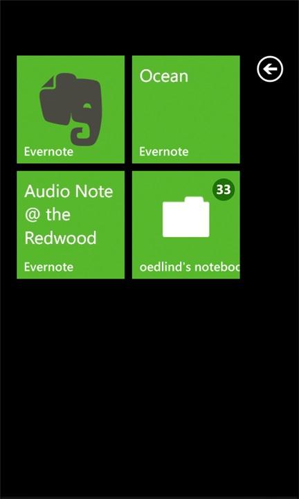 Screenshot, Evernote