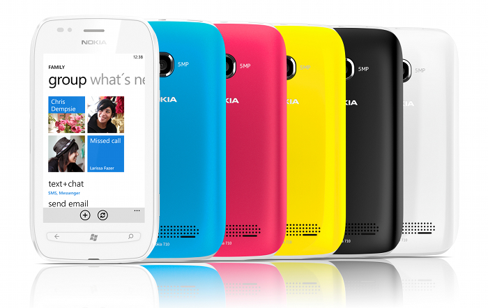Nokia 701 colour scheme