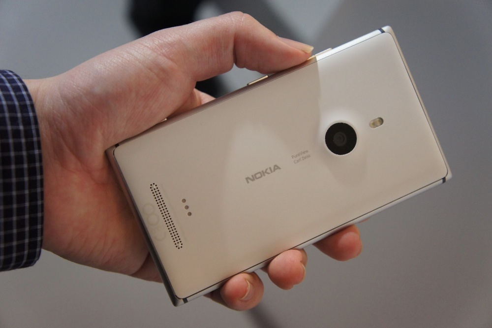 Full back view of the Lumia 925