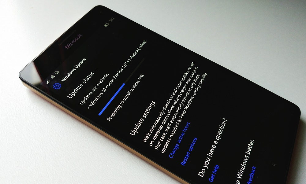 Windows 10 Mobile Fast and Slow Insiders rings get Fall Creators