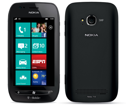 Nokia Lumia 710 with T-Mobile Branding