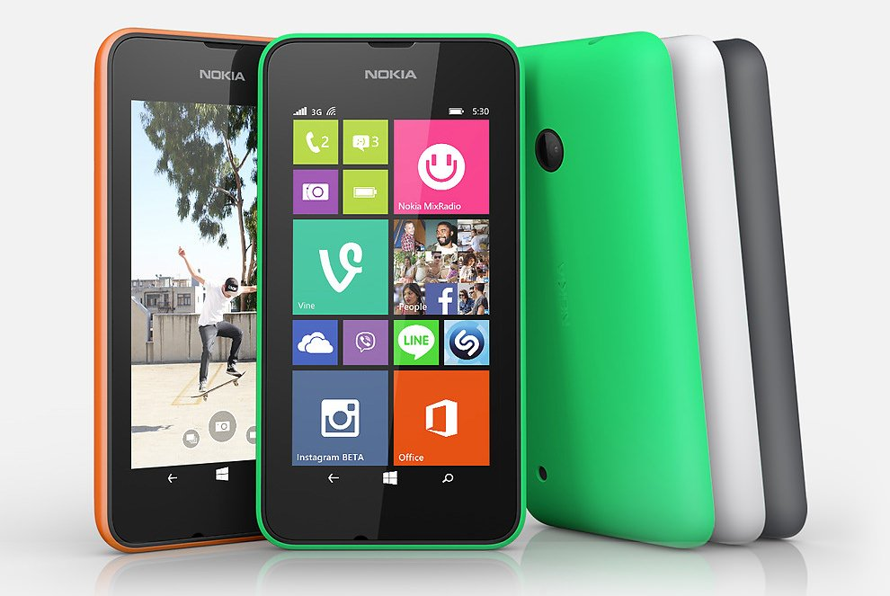 Lumia 530, single and dual SIM