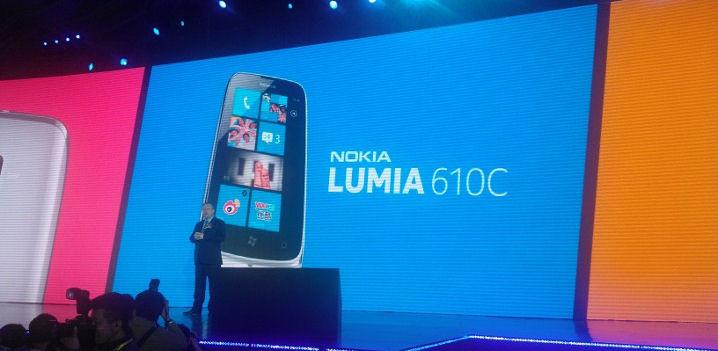 Lumia 610C