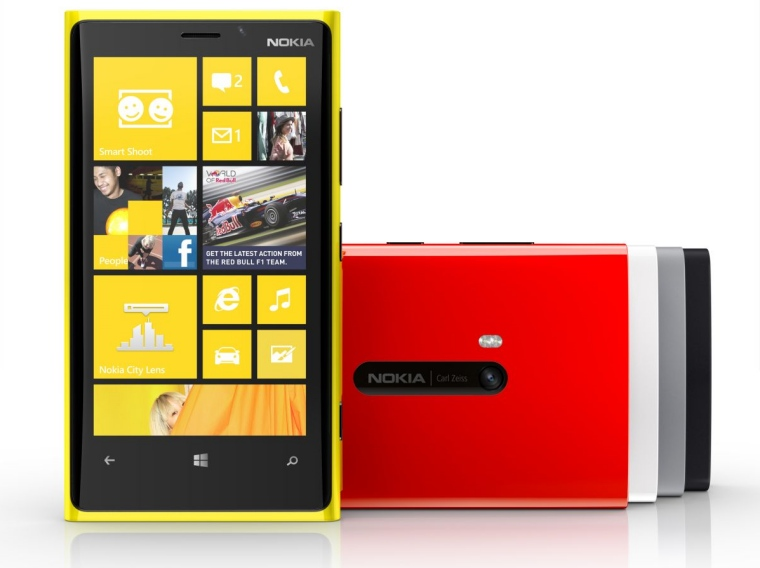 Lumia 920 Range