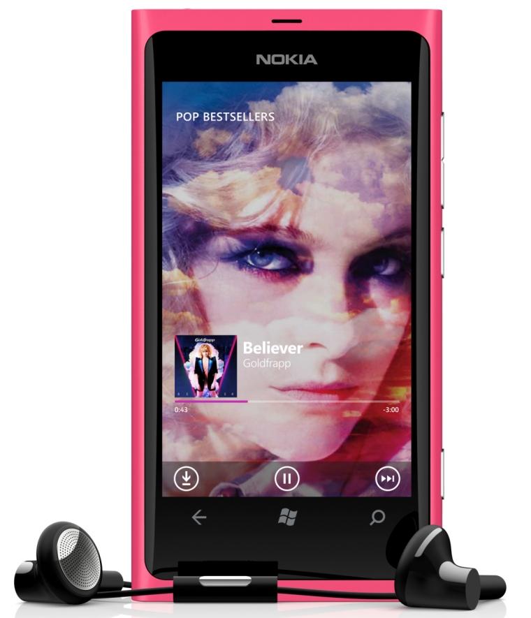 Nokia Music on Windows Phone