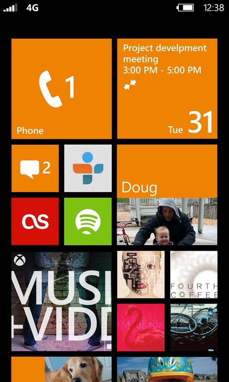 Windows Phone 8 Live Tiles