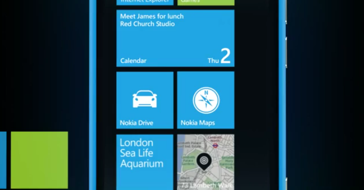 Nokia Maps in place next to Nokia Drive