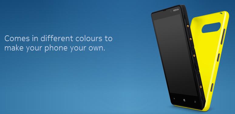 Lumia 820 Charging Shell