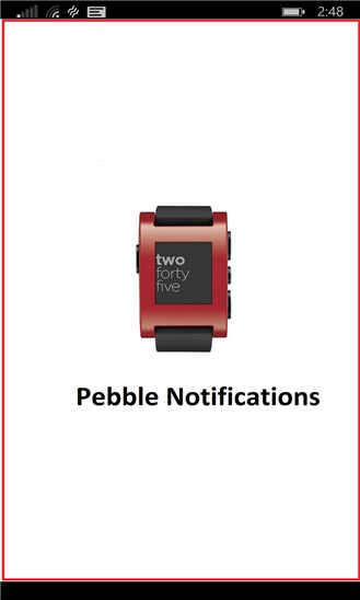 Pebble Notifications