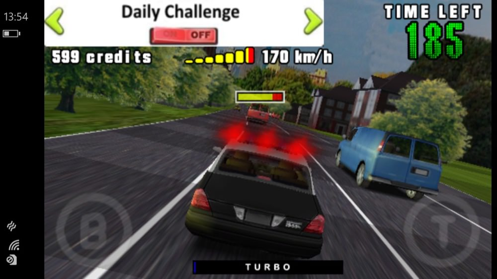 Screenshot, 3D Brutal Chase