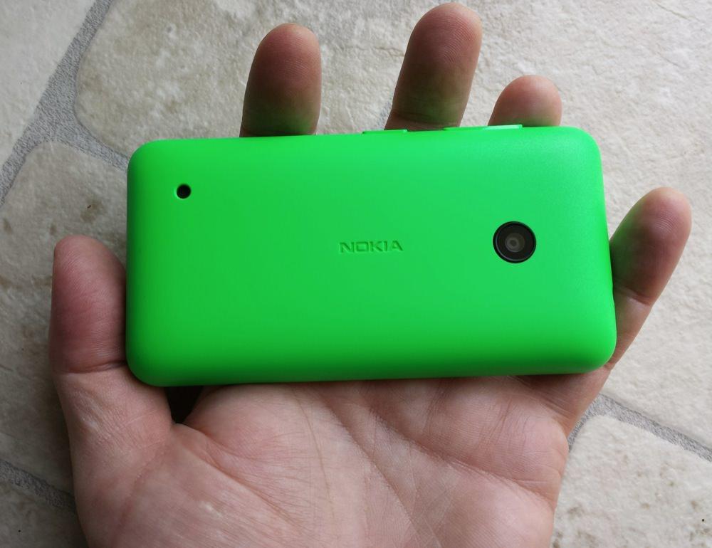 Lumia 530 back