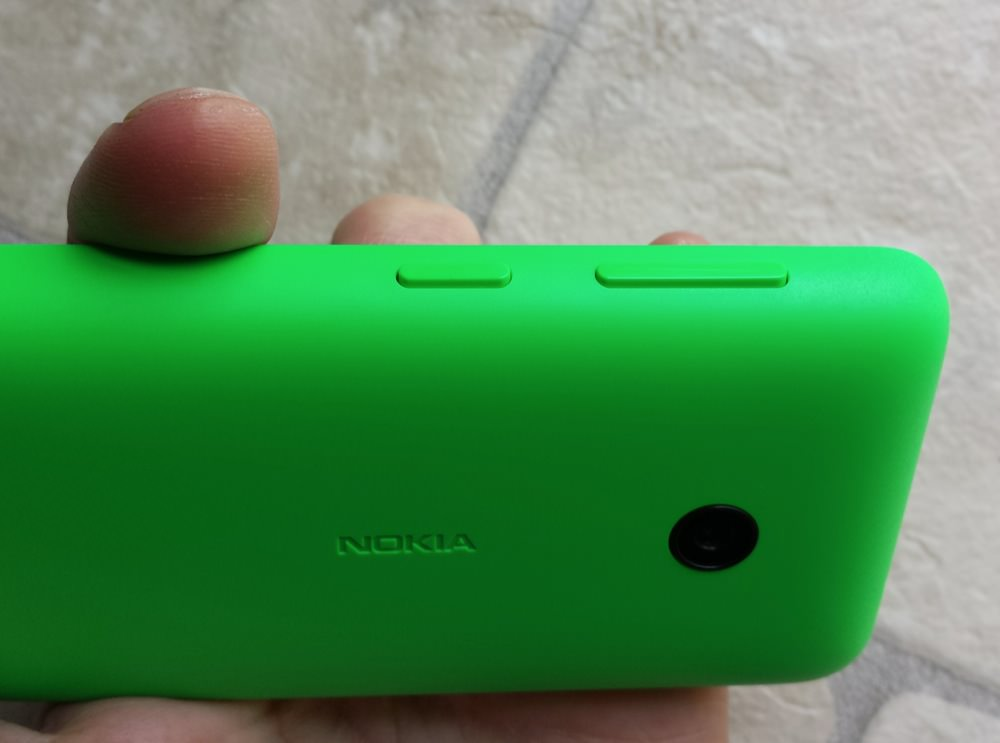 Lumia 530 buttons