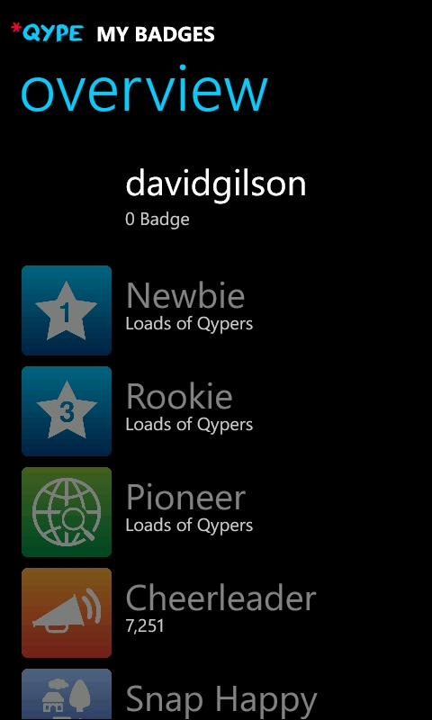 Qype for Windows Phone 7