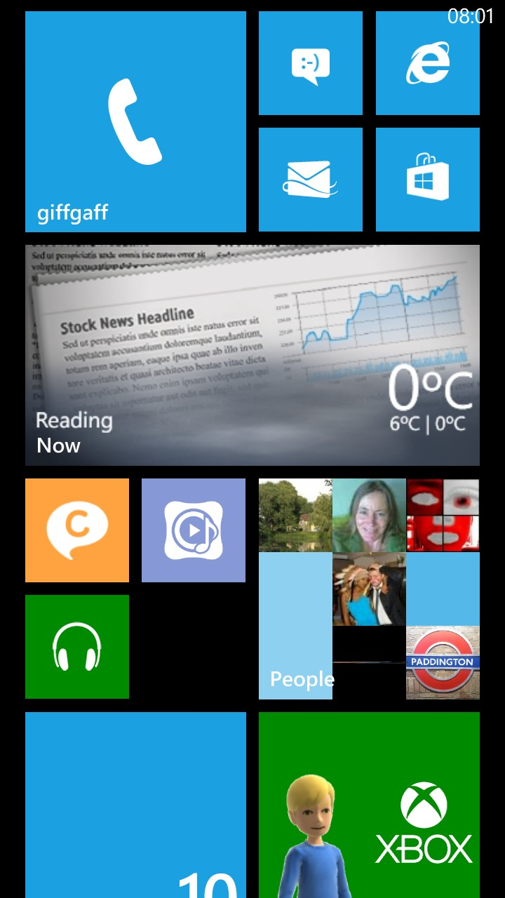 Screenshot from ATIV S