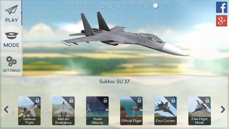 Screenshot, Avion Flight Simulator 2015
