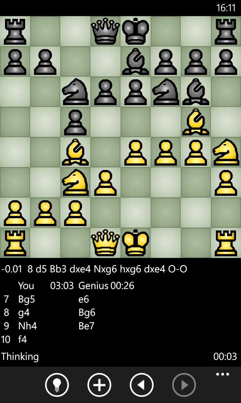 Screenshot, ChessGenius