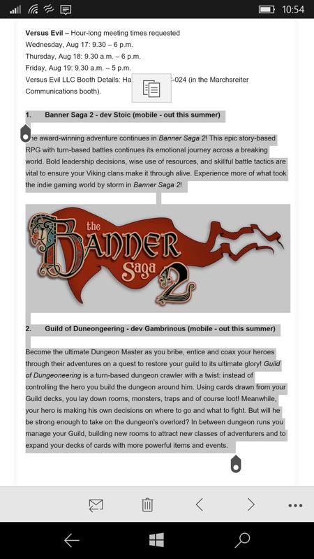 Copy Space screenshot
