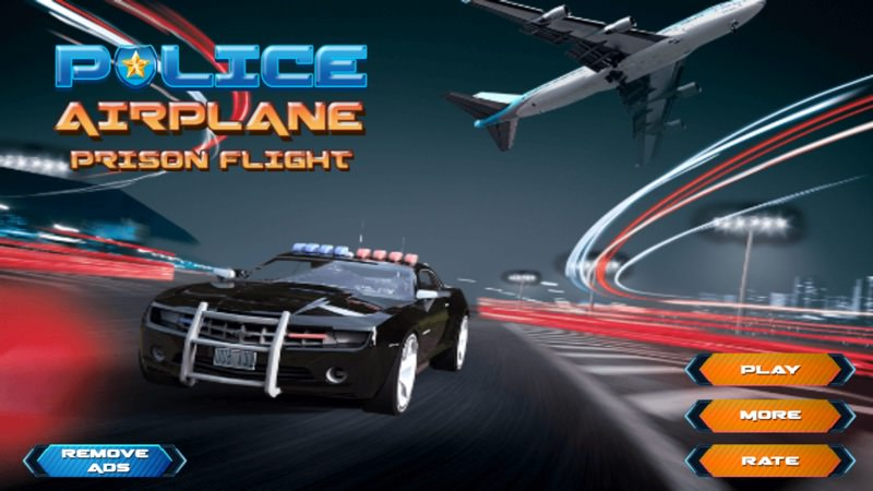 Screenshot, Police Airplane Prison Flight - Criminal Transport