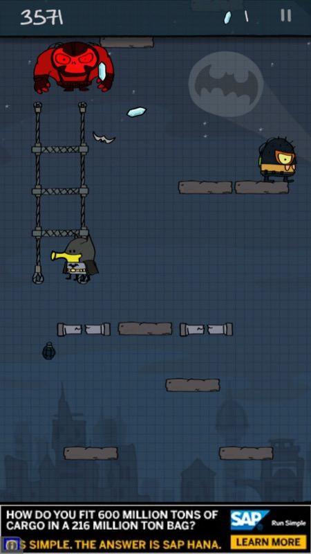 Screenshot, Doodle Jump DC