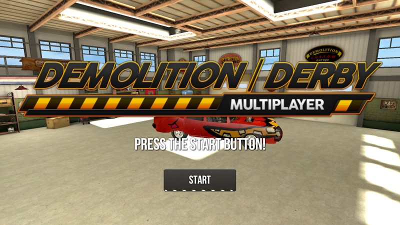Screenshot, Demolition Derby Multiplayer UWP