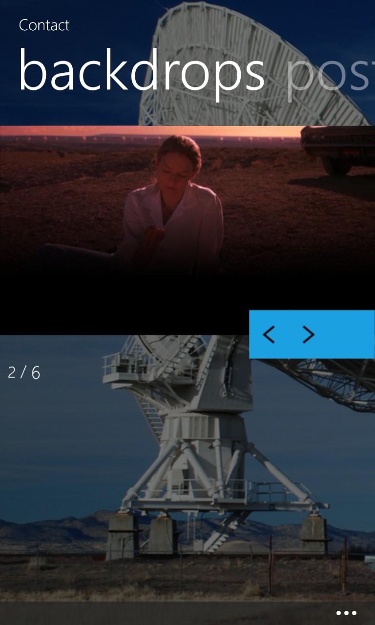 Screenshot, Film Closet