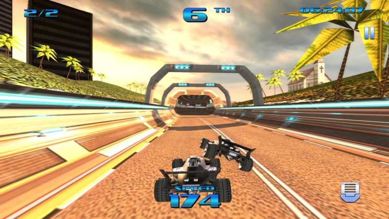 Screenshot, Formula Force Racing