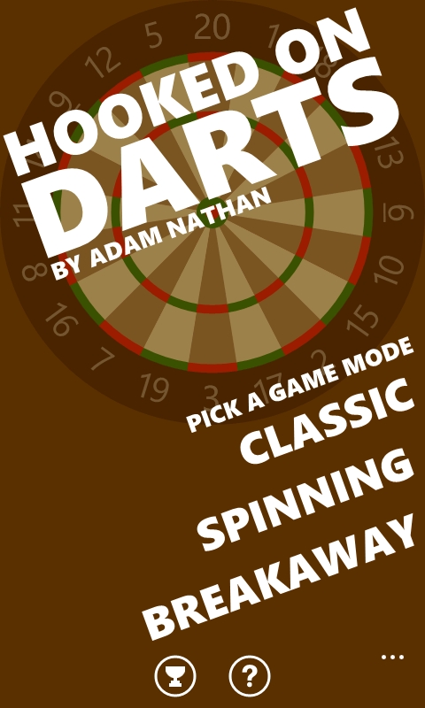 Screenshot, Hooked on Darts