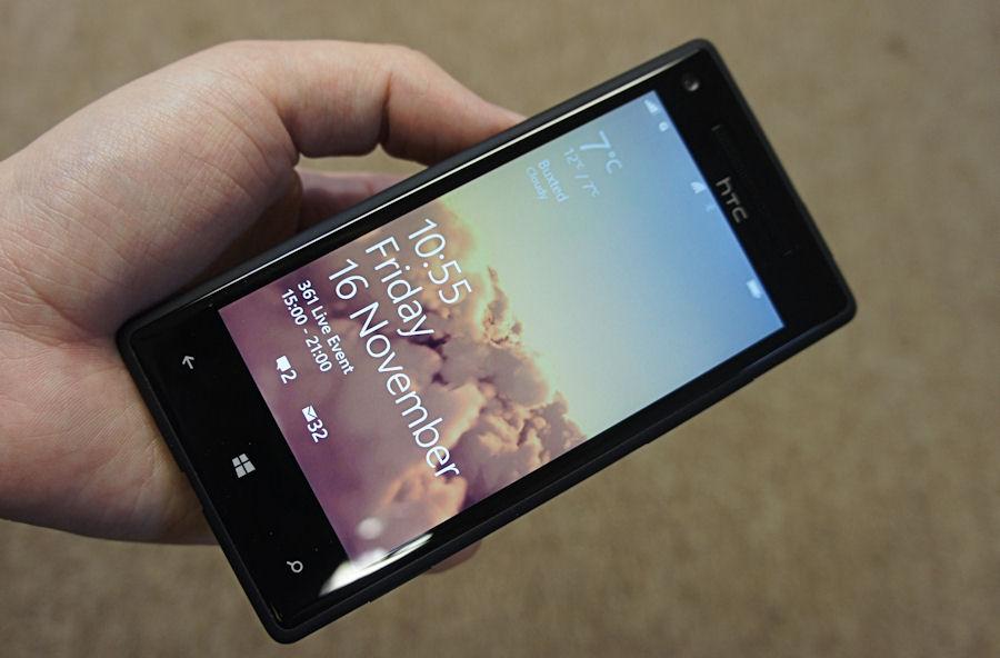 The HTC 8X